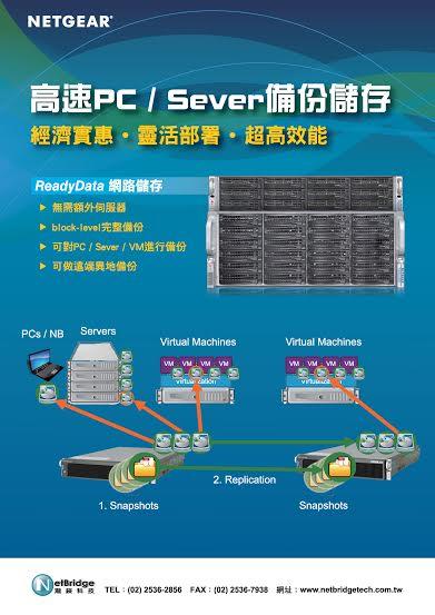 【iThome 670期 2014.7.25】高速PC/Sever備份儲存-ReadyData