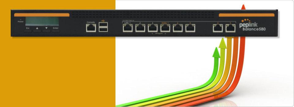 Peplnk WAN頻寬負載平衡器