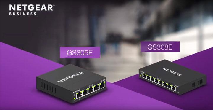 NETGEAR GS305E、GS308E 簡易網管交換器