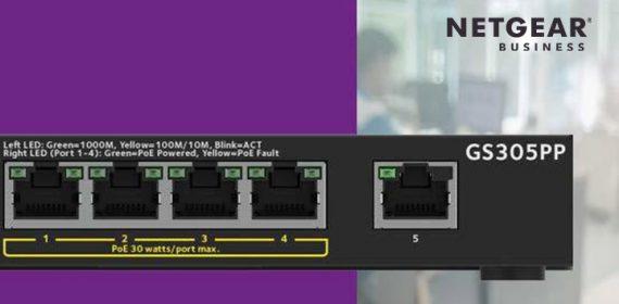 NETGEAR GS305PP