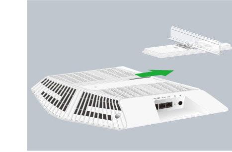 Orbi Pro 吸頂式衛星 SRC60,天花板吸頂吊掛安裝, 支援PoE供電