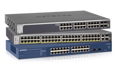 NETGEAR 智能網管交換器