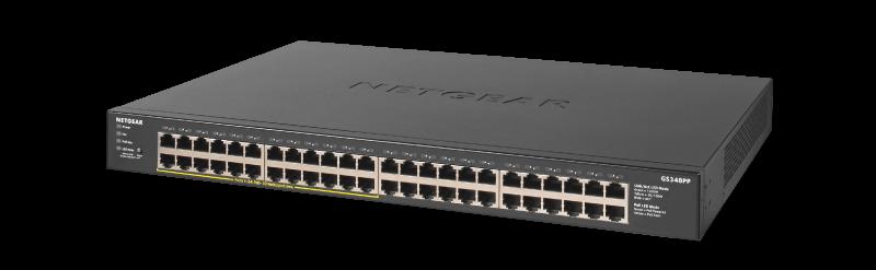 NETGEAR GS348PP 48埠 PoE/PoE+交換器