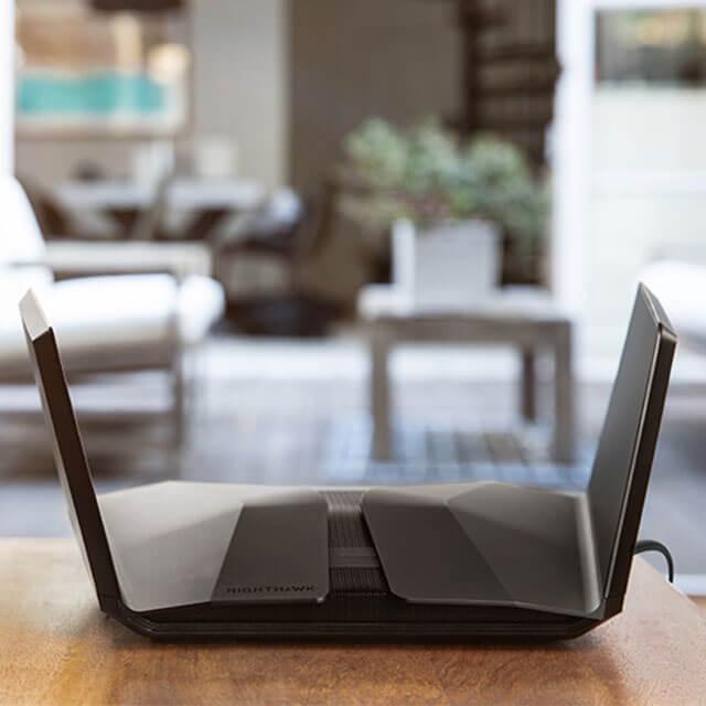 RAX120 AX6000 12串流 雙頻 WiFi 6 智能路由器