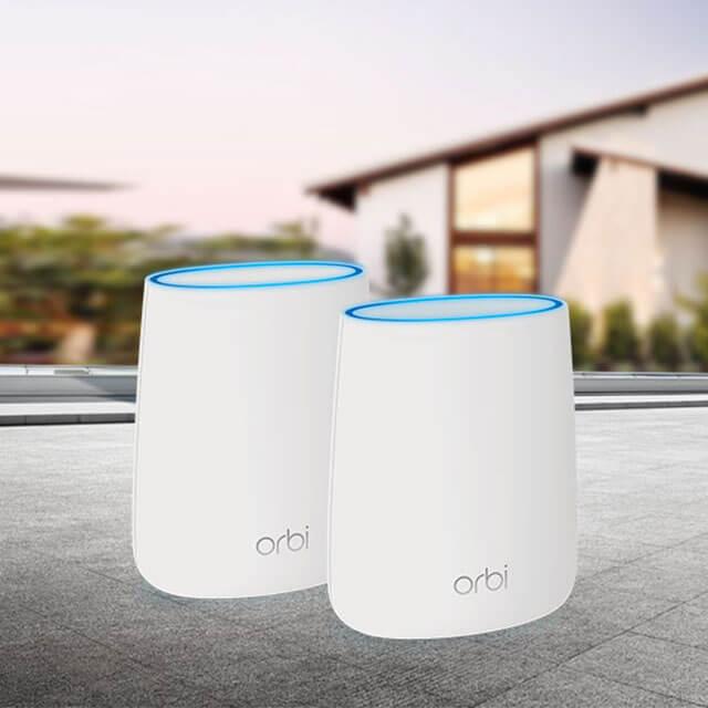 Orbi AC2200 三頻 Mesh WiFi 延伸系統