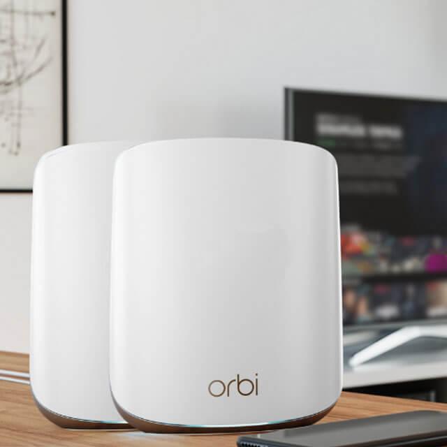 Orbi AX1800 雙頻 WiFi 6 Mesh 延伸系統