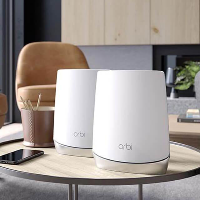 Orbi AX4200 三頻 WiFi 6 Mesh 延伸系統