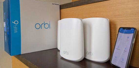 NETGEAR,Orbi,RBK353,WiFi6,AX1800,Mesh推薦,WiFi6路由器開箱